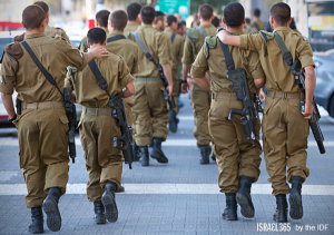 In Israel, every person is family. Every person serves in the Army at 18. It is One People. Every life is precious, an entire world.