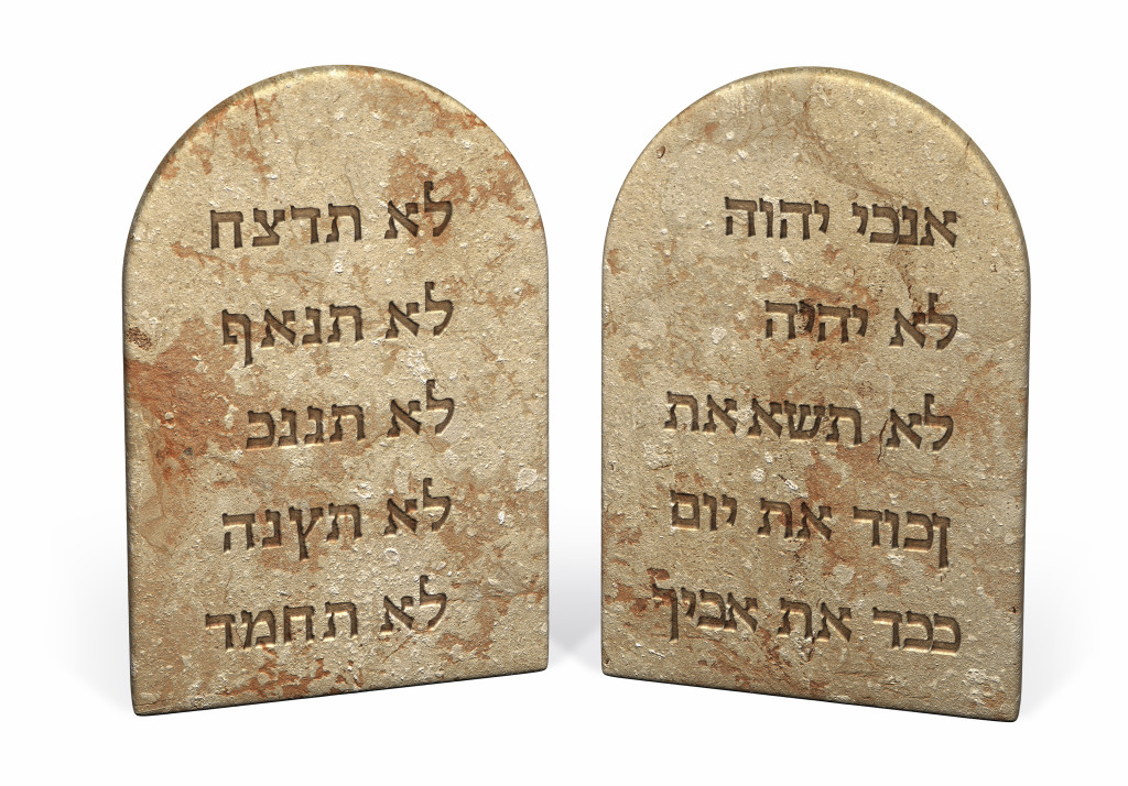 Ten Commandments |Lynne Meredith Golodner