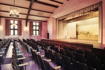 The auditorium at the Detroit Waldorf School