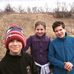 My three precious children, on a perfect Shabbat hike, the first day of Passover 2015