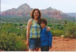 Asher and I in Sedona for his 10th birthday. What an amazing kid.