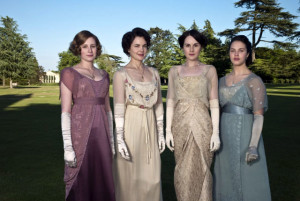 I love the costumes of Downton Abbey. Imagine if we could dress like that today!