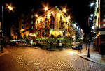 """A Dublin nightlife image. I remember my week in Ireland with Catherine as a freeing renewal from my twenty something life even though I didn't """"need"""" the freeing that I may need now."""
