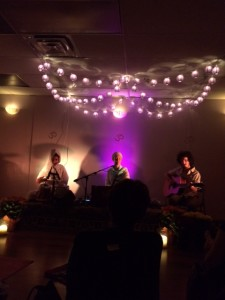 Ajeet Kaur in concert at Karma Yoga this past Sunday night