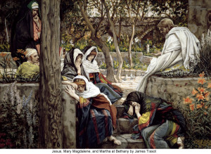 James_Tissot_Jesus_Mary_Magdalene_and_Martha_at_Bethany_700