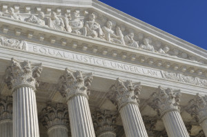 The U.S. Supreme Court's focus is JUSTICE and EQUALITY. What is partisan about that?