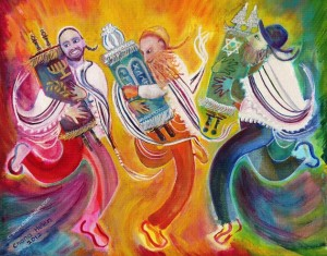 We will spend Simchat Torah in Jerusalem, dancing with Torahs at the Western Wall. I simply cannot wait.