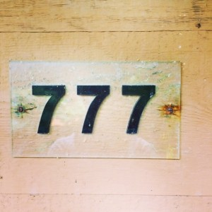 My room number at Shanty Creek. Auspicious week. Pray for what you want. You just might get it.