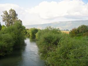 a view of the Jordan River